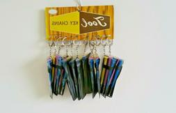 1 Dozen Sets Of 3 Mini Screwdrivers With A Pouch Keychain
