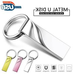 16GB/32GB/64GB Metal U Disk USB3.0 Flash Drives Memory Stick