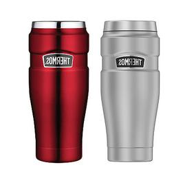 16oz vacuum insulated stainless steel travel tumbler