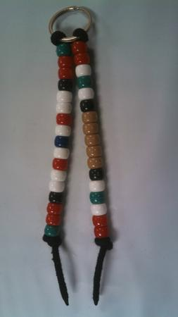 2 FOR 1 Beaded Veteran Key Chains, Afghanistan/Iraq Campaign