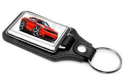 2015-16 Dodge Challenger RT Muscle Car-toon Key Chain Ring F