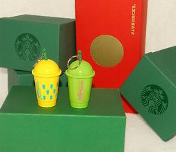 STARBUCKS - 2016 Summer - Frappuccino Colorful KEYCHAINS - *