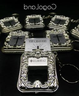 24 bible key chain baptism favors first