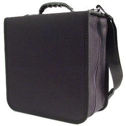 288 Capacity CD/DVD Carrying Case - Black - with New and Imp