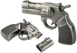 32 GB Pistol Gun USB 3.0 Flash Drive Memory Card Police Army