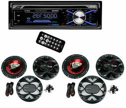 Boss 508UAB Dash CD Car Player USB/SD MP3 Receiver Bluetooth