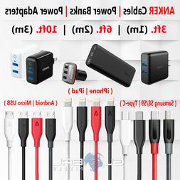 Anker iPhone Micro USB Cable Type C 3FT