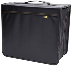 Case Logic DVB-200 200 CD/DVD and 92 Liner Note Capacity