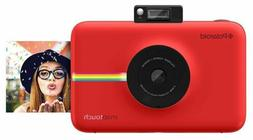 Polaroid - Snap Touch 13.0-megapixel Digital Camera - Red