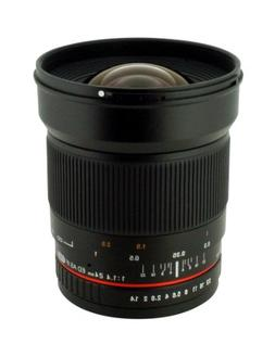 Rokinon 24mm F/1.4 Aspherical Wide Angle Lens for Canon RK24