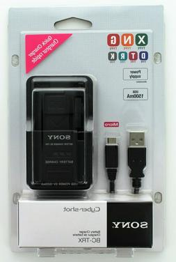 Sony BCTRX  Battery Charger for X/G/N/D/T/R and K Series Bat