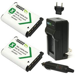 Wasabi Power Battery  and Charger for Sony NP-BX1, NP-BX1/M8