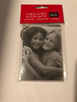 Acrylic Picture Photo Frame Key Chain 2 x 3 Inches 1 Piece