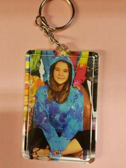 Acrylic Picture Photo Frame Key Chain 2x3 Inches