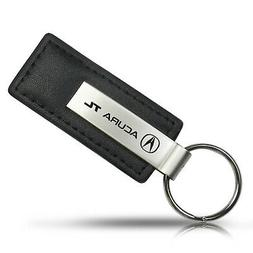 Acura TL Black Leather Key Chain