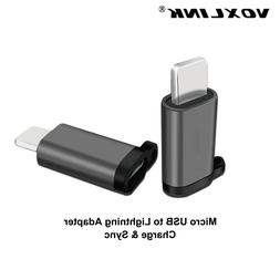 VOXLINK Adapter Micro <font><b>USB</b></font> To Lighting 8P
