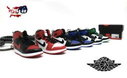 AIR JORDANS - 3D MINI SNEAKER KEYCHAIN - GIFT SET - MANY STY