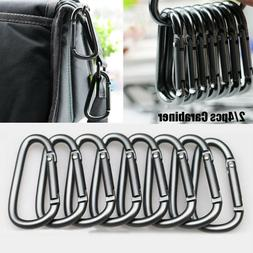 Alloy Equipment Climbing Button Buckle Keychain Camping Hiki