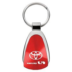 Au-Tomotive Gold, INC. Toyota FJ Cruiser Red Teardrop Keycha