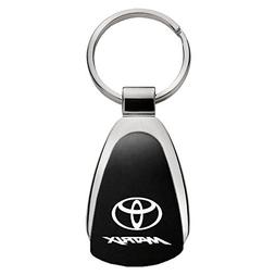 Au-Tomotive Gold, INC. Toyota Matrix Black Teardrop Keychain