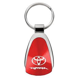 Au-Tomotive Gold, INC. Toyota Matrix Red Teardrop Keychain