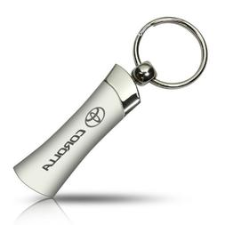 Au-tomotive Gold Toyota Corolla Blade Style Metal Key Chain