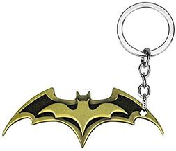 Batman Keychain Bat Symbol Bat Wing Key Chain U.S. Seller