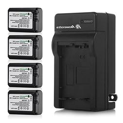 Powerextra Battery  and Charger for Sony NP-FW50 and Sony Al