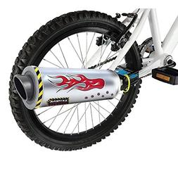 Bicycle exhaust pipe system, bike installation exhaust pipe,