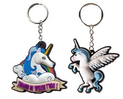 Blue Unicorn Gifts For Kids Girls Womens Cute Bag Car Charm