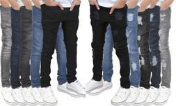 Boys/Kids/Youths Skinny Stretch Ripped/Non Ripped Designer J