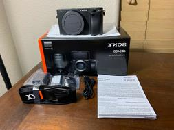 Brand New Sony A6400 24.2MP E-Mount Mirrorless Camera - US V