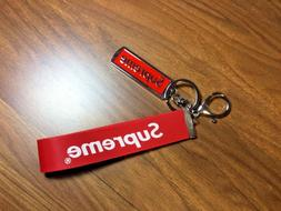 Brand New Authentic Red Metal Supreme Key Chain Collection