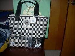 Brand New Spartina 449 DRIFTER TOTE SNAP WALLET AND KEY CHAI