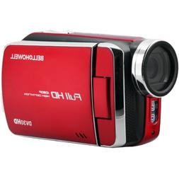 """Digital Camcorder - 3"""" - Touchscreen LCD - Full HD - Red"""