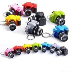 Camera With Flash Light Lucky Cute Charm LED Luminous Keycha