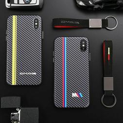 Carbon Fiber iPhone Case Cover BMW M AMG RS Motor sport Cove