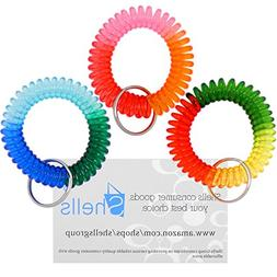 Shells 3Pack Colorful Bright Assorted Pearlized Gradual Chan