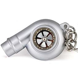 Maycom Creative Spinning New Chrome Matte Silver Turbo Turbo