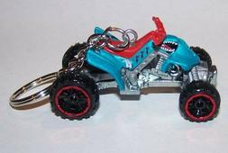 CUSTOM MADE.4-WHEELER/QUAD RACER ..KEYCHAIN..GREAT GIFT!