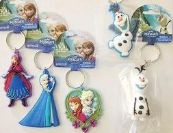 Disney Frozen key chain key ring 5 styles Anna, Elsa, Olaf i