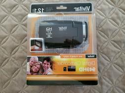 Vivitar DVR949-BLACK 12.1MP Full HD Digital Camcorder Video