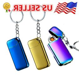 Electric  Coil Lighter Usb Rechargeable with Key Chain  Wind