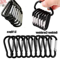 Equipment Alloy Carabiner Camping Hiking Hook Climbing Butto
