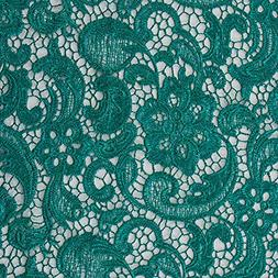 Fabric - Water Soluble African Lace Fabric Flower Embroidery