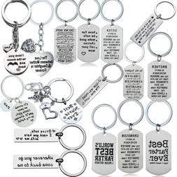 Family Key Chain Keychains Mother Daughter Brother Son Dad S