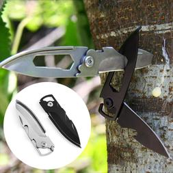 Folding Mini Outdoor Camping Survival Handle Key Chain Pocke