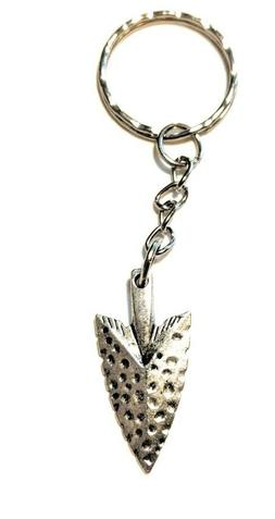 Full Metal ArrowHead Keychain key chain Jewelry fishing arro