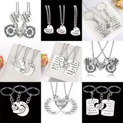 Gifts For Mother Father Sister Keychains Set Best Friend Nec