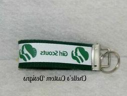 Girl Scouts inspired Key chain key fob MAKES A GREAT GIFT! F